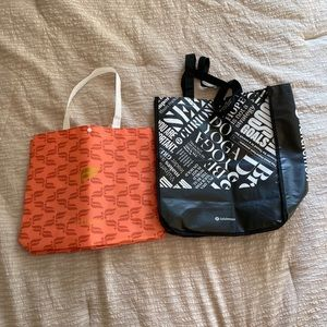 Large Lululemon and Fabletics Bags